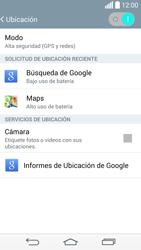 Uso de la navegación GPS - LG G3 Beat - Passo 9