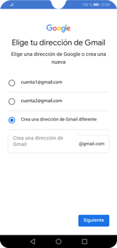 Crea una cuenta - Huawei Y7 2019 - Passo 9