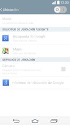 Uso de la navegación GPS - LG G3 Beat - Passo 7