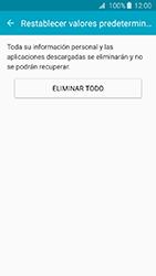 Restaura la configuración de fábrica - Samsung Galaxy J3 - J320 - Passo 7