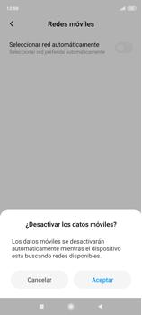 Cómo seleccionar una red en tu teléfono manualmente - Xiaomi Redmi Note 9 Pro - Passo 10