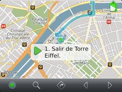 Uso de la navegación GPS - BlackBerry Bold 9720 - Passo 19