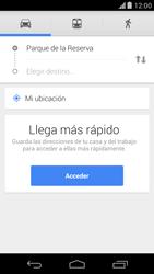 Uso de la navegación GPS - Motorola Moto X (2a Gen) - Passo 15