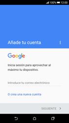 Crea una cuenta - HTC Desire 626s - Passo 3