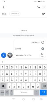 Envía fotos, videos y audio por mensaje de texto - Huawei P30 - Passo 6