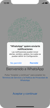 Configuración de Whatsapp - Apple iPhone XS - Passo 5