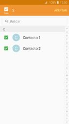 ¿Tu equipo puede copiar contactos a la SIM card? - Samsung Galaxy S6 - G920 - Passo 11