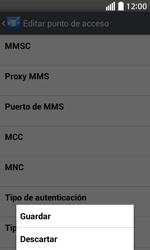 Configura el Internet - LG L70 - Passo 16