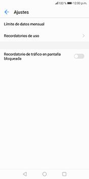 Desactivación límite de datos móviles - Huawei Mate 10 Lite - Passo 9