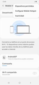 Configura el hotspot móvil - Samsung Galaxy A50 - Passo 8