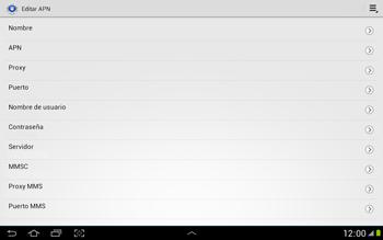 Configura el Internet - Samsung Galaxy Note 10-1 - N8000 - Passo 10