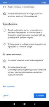Crea una cuenta - Xiaomi Redmi Note 7 - Passo 12