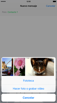 Envía fotos, videos y audio por mensaje de texto - Apple iPhone 6s Plus - Passo 8