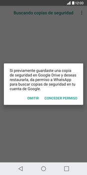 Configuración de Whatsapp - LG G6 - Passo 12