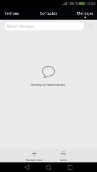 Envía fotos, videos y audio por mensaje de texto - Huawei Mate S - Passo 2