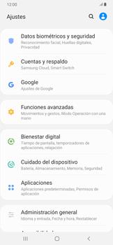 Realiza una copia de seguridad con tu cuenta - Samsung Galaxy A30 - Passo 4