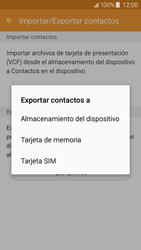 ¿Tu equipo puede copiar contactos a la SIM card? - Samsung Galaxy J5 - J500F - Passo 8