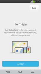 Uso de la navegación GPS - LG G Flex - Passo 5