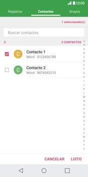 Envía fotos, videos y audio por mensaje de texto - LG G6 - Passo 6