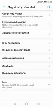 Desbloqueo del equipo por medio del patrón - Huawei P Smart - Passo 5