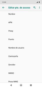 Configura el Internet - Motorola Moto G7 Plus - Passo 11