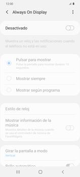 Cómo activar Always on Display - Samsung Galaxy S20 - Passo 6
