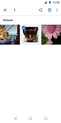 Transferir fotos vía Bluetooth - Motorola Moto E5 Play - Passo 7