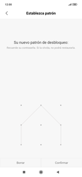 Desbloqueo del equipo por medio del patrón - Xiaomi Redmi Note 7 - Passo 9