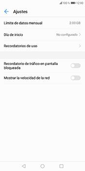 Desactivación límite de datos móviles - Huawei Y6 2018 - Passo 6