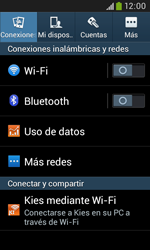 Configura el hotspot móvil - Samsung Galaxy Trend Plus S7580 - Passo 4