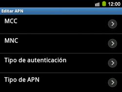 Configura el Internet - Samsung Galaxy Y Pro GT - B5510 - Passo 12