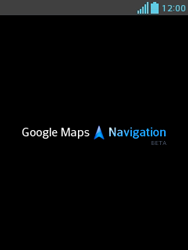 Uso de la navegación GPS - LG Optimus L3 II - Passo 18