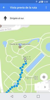 Uso de la navegación GPS - LG G6 - Passo 19