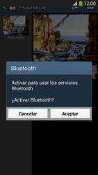 Transferir fotos vía Bluetooth - Samsung Galaxy S4  GT - I9500 - Passo 11