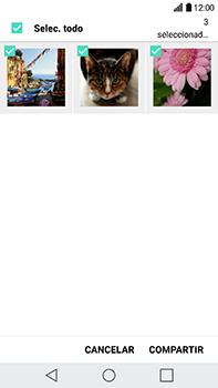 Transferir fotos vía Bluetooth - LG V20 - Passo 7