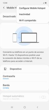 Configura el hotspot móvil - Samsung Galaxy A51 - Passo 8