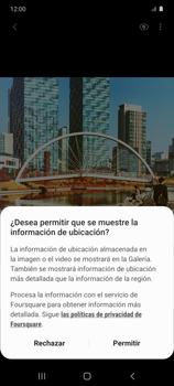 Cómo usar los efectos de la cámara - Samsung Galaxy S10 Lite - Passo 9