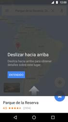 Uso de la navegación GPS - Motorola Moto G5 - Passo 10