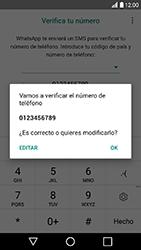 Configuración de Whatsapp - LG K10 2017 - Passo 7
