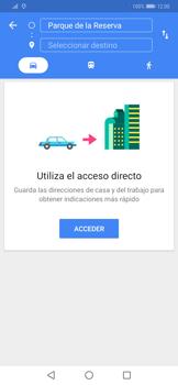 Uso de la navegación GPS - Huawei Mate 20 Pro - Passo 12