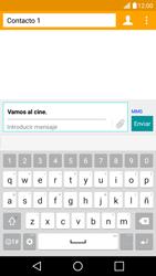 Envía fotos, videos y audio por mensaje de texto - LG K10 - Passo 11