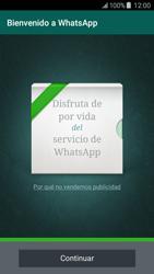 Configuración de Whatsapp - Samsung Galaxy J5 - J500F - Passo 9