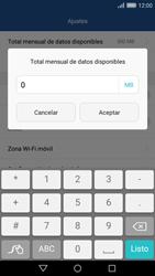 Desactivación límite de datos móviles - Huawei Cam Y6 II - Passo 7