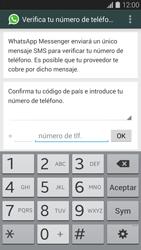 Configuración de Whatsapp - Samsung Galaxy S5 - G900F - Passo 5