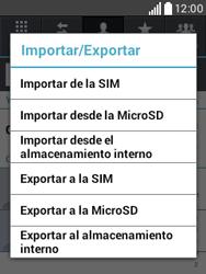 ¿Tu equipo puede copiar contactos a la SIM card? - LG L20 - Passo 6