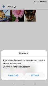 Transferir fotos vía Bluetooth - Huawei Mate 9 - Passo 9
