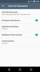 Desactivación límite de datos móviles - Sony Xperia XZ Premium - Passo 7
