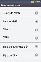 Configura el Internet - Motorola MotoSmart Me  XT303 - Passo 14