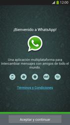 Configuración de Whatsapp - Samsung Galaxy S4  GT - I9500 - Passo 4