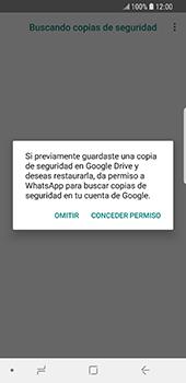 Configuración de Whatsapp - Samsung Galaxy S9 - Passo 12